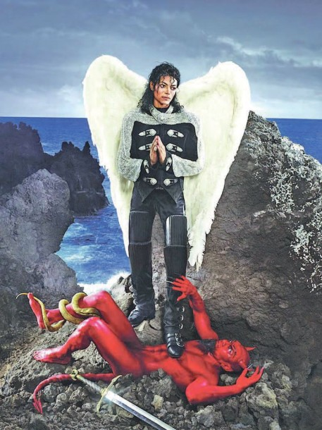 DAVID LACHAPELLE (NE EN 1964) ARCHANGEL MICHAEL: AND NO MESSAGE COULD HAVE BEEN ANY…