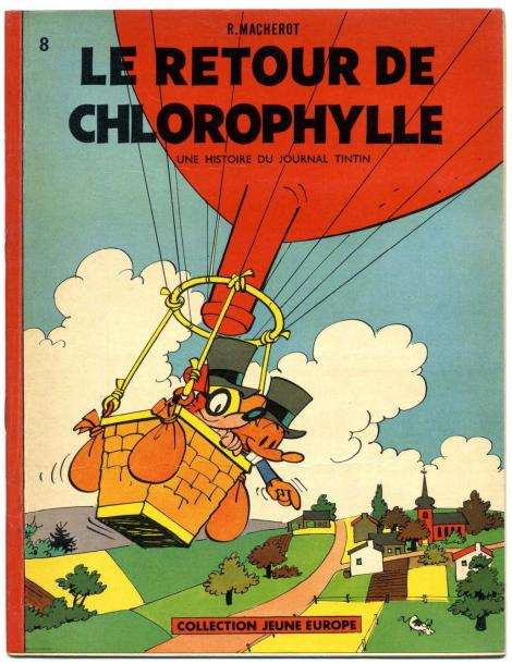MACHEROT, RAYMOND CHLOROPHYLLE Le retour de Chlorophylle, EO Broché 1961, collection…