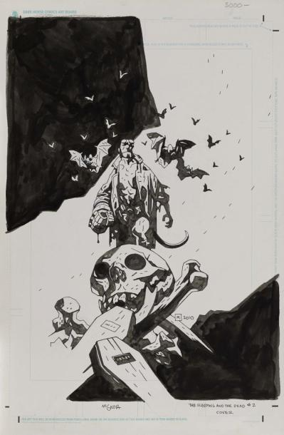 MIGNOLA MIKE THE SLEEPING AND THE DEAD # 2 - SÉRIE: HELLBOY, FÉVRIER 2011 Couverture…
