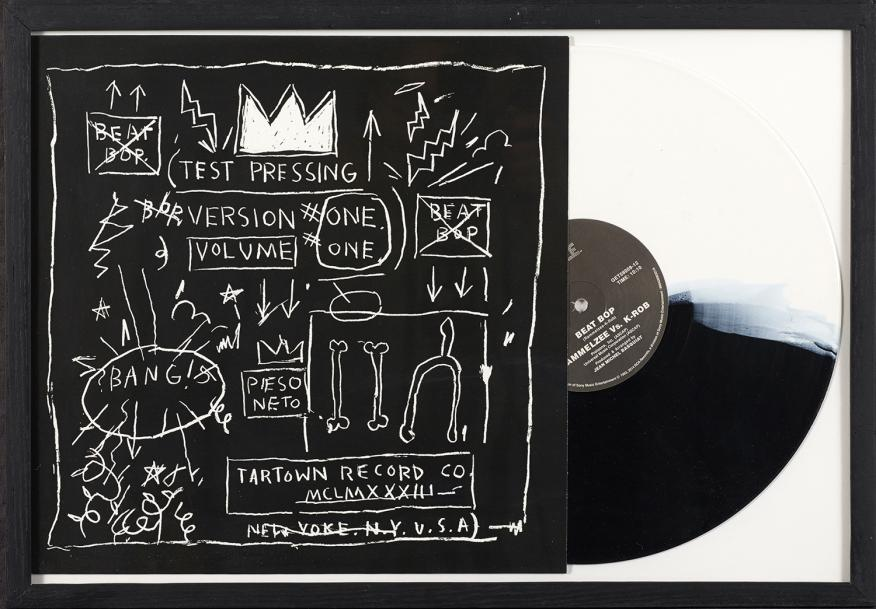 JEAN-MICHEL BASQUIAT (1960-1988) TEST PRESSING, BEAT POP, 1983-2014 Impression offset…