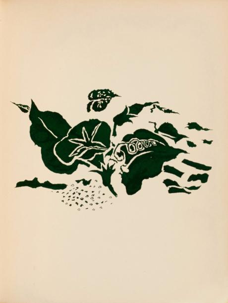 GEORGES BRAQUE (1882-1963) RENE CHAR (1907-1988) MANUSCRITS, LIVRES, DOCUMENTS, ESTAMPES,…