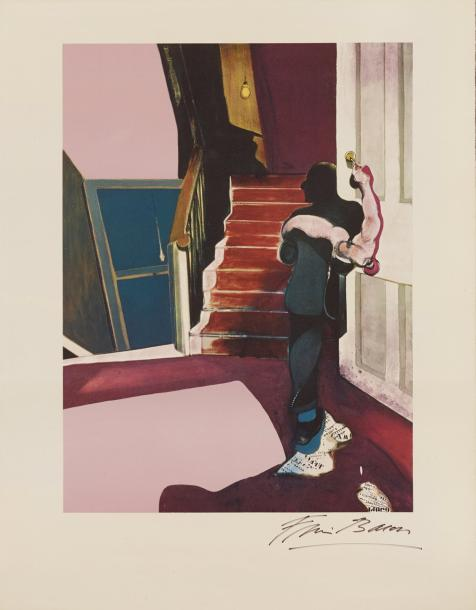 FRANCIS BACON (1909-1992) IN MEMORY OF GEORGE DYER, 1976 (Sabatier, 33) D'après le…