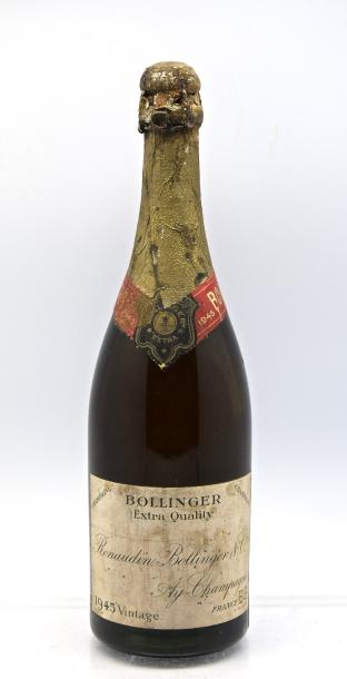 "1 bouteille CHAMPAGNE ""Extra Quality"", Bollinger 1945 (LB)"
