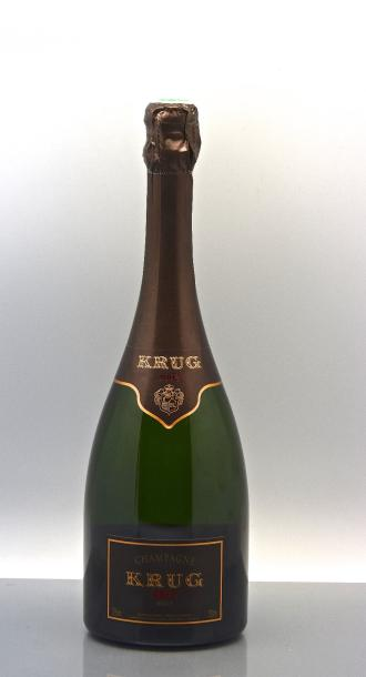 1 bouteille CHAMPAGNE Krug 2003