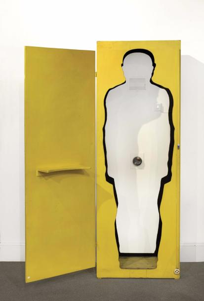 ROY ADZAK (WRIGHT ROYSTON DIT) (1927-1988) SEX MACHINE - MASTURBATION BOX, 1967 Bois…