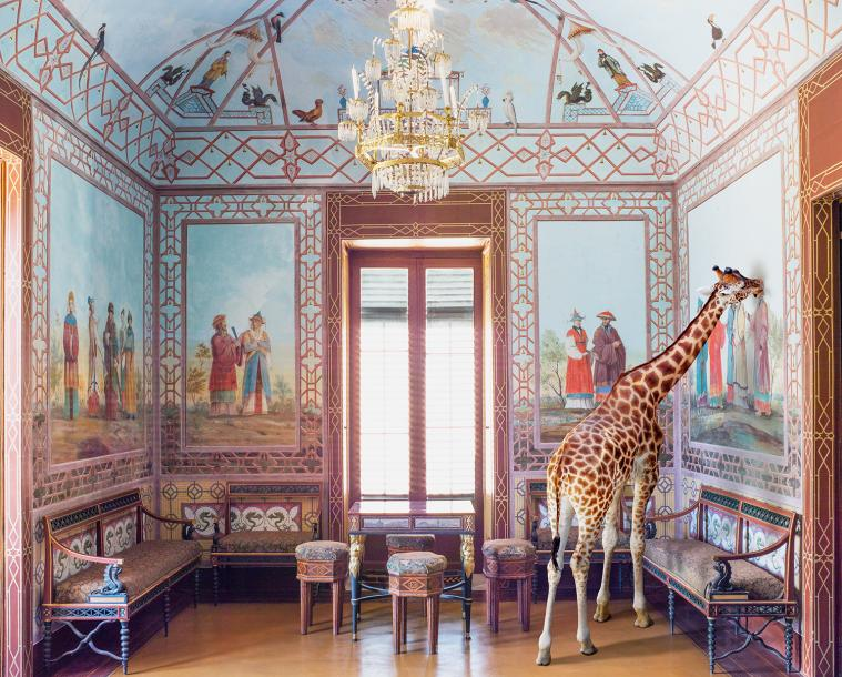 KAREN KNORR (NÉE EN 1954) LOVE AT FIRST SIGHT, PALAZINNA CINESE (SERIE MÉTAMORPHOSES)…