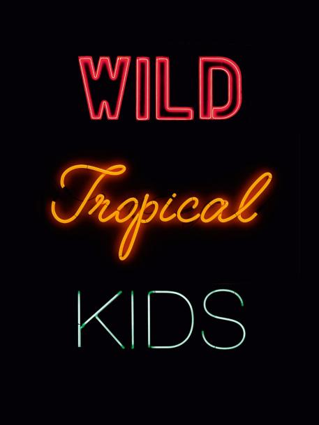 FRANCK PERRIN (NÉ EN 1963) WILD TROPICAL KIDS (DE EMPIRE OF SIGNS, POSTCAPITALISM…