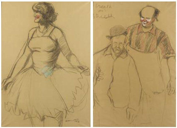 ACHILLE EMILE OTHON FRIESZ (1879-1949) STREETH AND STREETH Ensemble de deux dessins…
