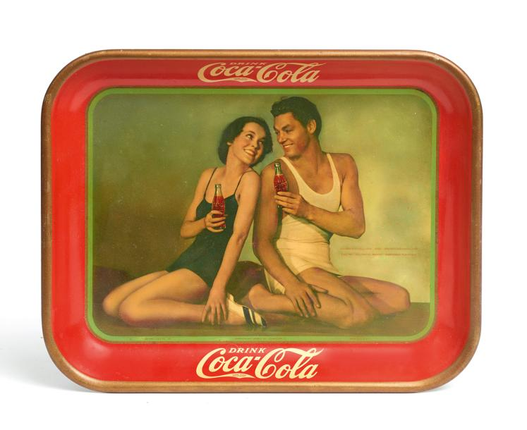 «Drink Coca-Cola». Maureen O'Sullivan and Johnny Weissmuller, Metro-Goldwyn-Mayer…