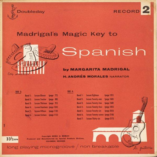 ANDY WARHOL (1928-1987) MADRIGAL'S MAGIC KEY TO SPANISH, 1953 (Marechal, 6) (record…