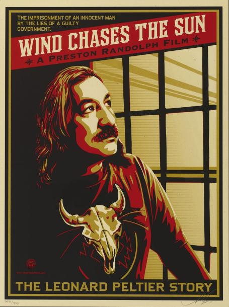 SHEPARD FAIREY (OBEY GIANT DIT) (NE EN 1970) WIND CHASES THE SUN, 2012 Sérigraphie…