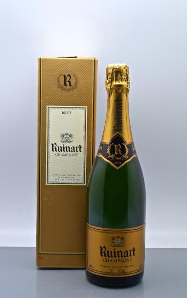 6 bouteilles CHAMPAGNE Ruinart
