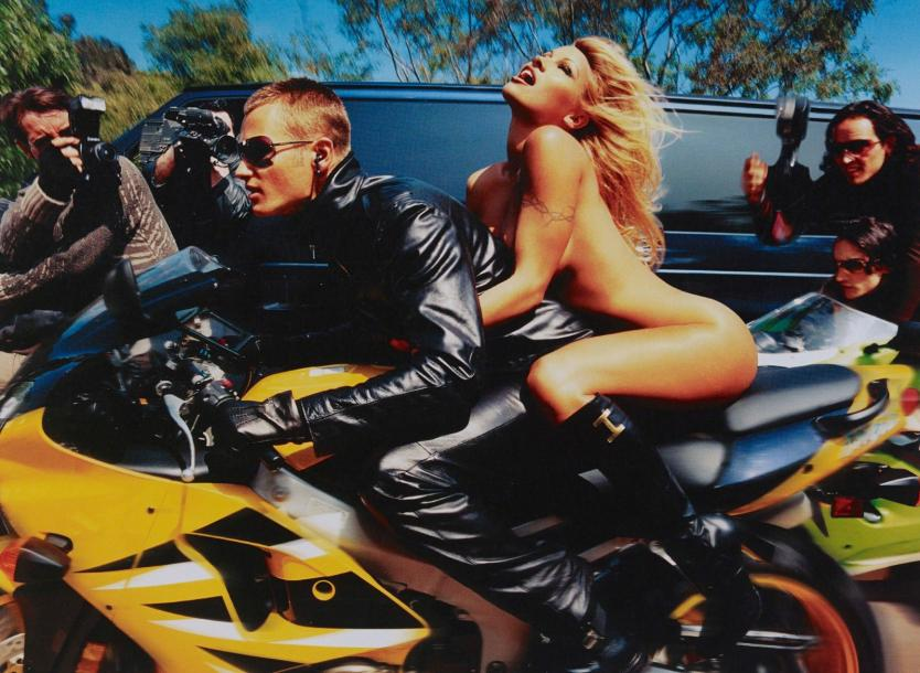 DAVID LACHAPELLE (NE EN 1963) *PAMELA ANDERSON: FASTER, FASTER, I'M ALMOST THERE,…