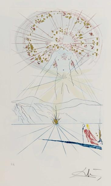 SALVADOR DALI (1904-1989) THE BRIDEGROOM LEAPS UPON THE MOUNTAINS, 1971 (Michler…