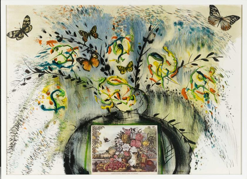 SALVADOR DALI (1904-1989) FLOWERS AND FRUIT, 1971 (Michler & Löpsinger, 1350) Tirée…