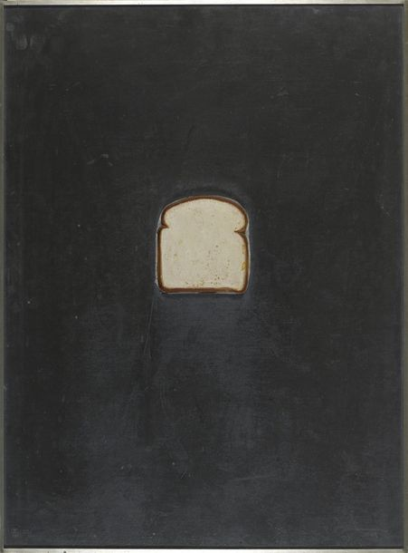 "JASPER JOHNS (NE EN 1930) BREAD, 1969 (Ulae, 76) Multiple de la suite des ""Lead relief""…"