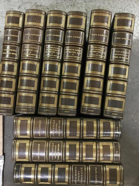 Paul Lacroix 9 Volumes In Folio