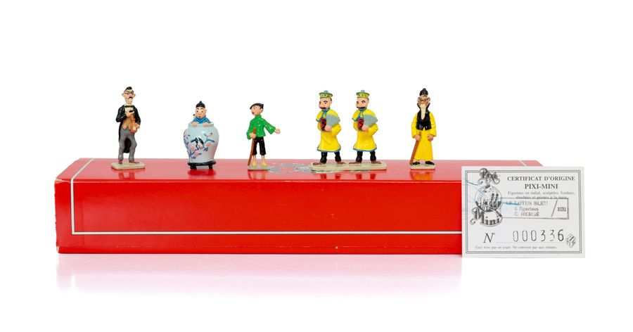 HERGE TINTIN PIXI 2121 Mini 1ère collection Figurines en plomb peintes à la main…