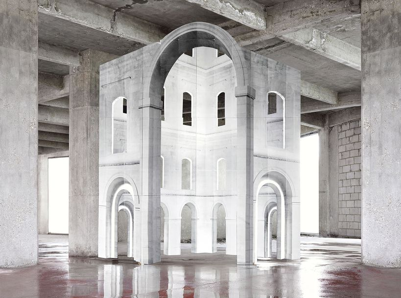 NOÉMIE GOUDAL IN FIRST OF THE FIRST LINE III Tirage Lamda print sur papier RTC satiné.…
