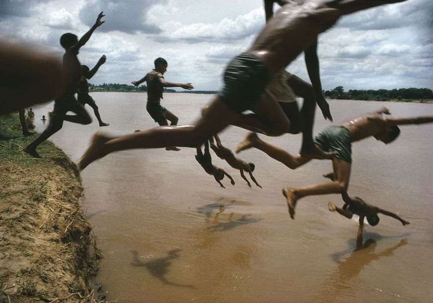 BRUNO BARBEY AMAZONE BRESIL 1966 40 X 57 cm. Papier HP Tirage jet d encre