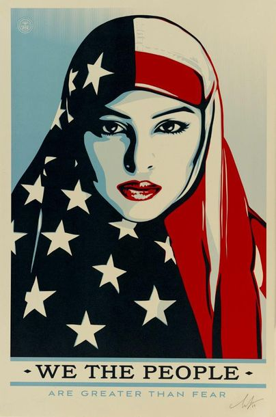 SHEPARD FAIREY (OBEY GIANT DIT) (NE EN 1970) WE ARE THE PEOPLE, 2017 Ensemble de…