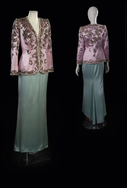 140. YVES SAINT LAURENT - COLLECTION HAUTE COUTURE, PRINTEMPS - ETÉ 1998 Brodeur…