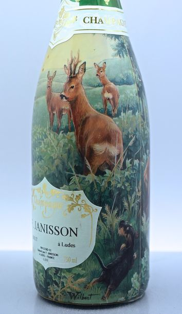 1 bouteille CHAMPAGNE F Janisson