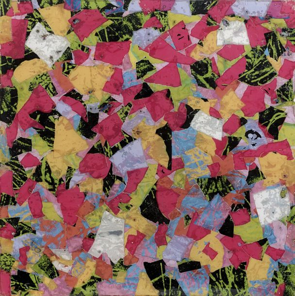 ARMAN (1928-2005) WHAT HAPPENS TO THE FLOWERS ? HOMMAGE TO ANDY WARHOL, 1970 Inclusion…