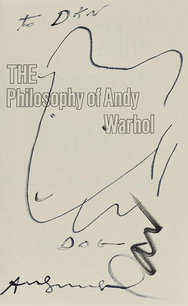 180. ANDY WARHOL (1928-1987)  CAMPBELL'S FROM A TO B & BACK  AGAIN  (The Philosophy…