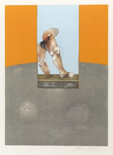 83. FRANCIS BACON (1909-1992)  TRIPTYCH 1987, 1989  (Sabatier, 25)  Lithographie…