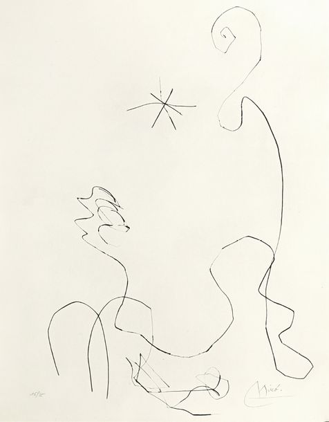 86. JOAN MIRO (1893-1983)  JOURNAL D'UN GRAVEUR, 1975  (Dupin, 769; Cramer, 200)…
