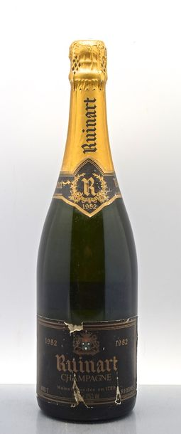 1 bouteille CHAMPAGNE Ruinart 1982 (ea)