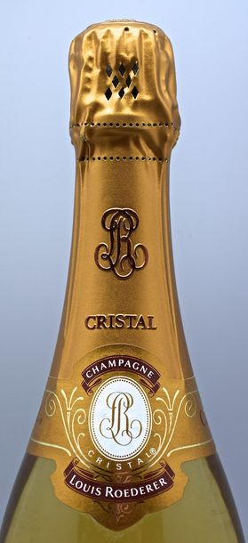 "1 bouteille CHAMPAGNE ""Cristal"", Roederer 1997 coffret"