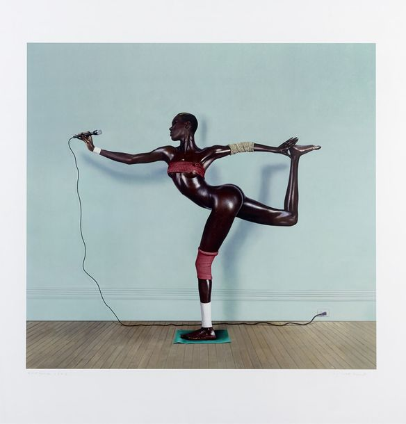 JEAN-PAUL GOUDE (NE EN 1940) GRACE JONES, 1978 Tirage chromogénique Signé en bas…