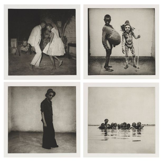 MALICK SIDIBE (1936-2016) MALI TWIST, 2013 Portfolio comprenant un ensemble de 21…