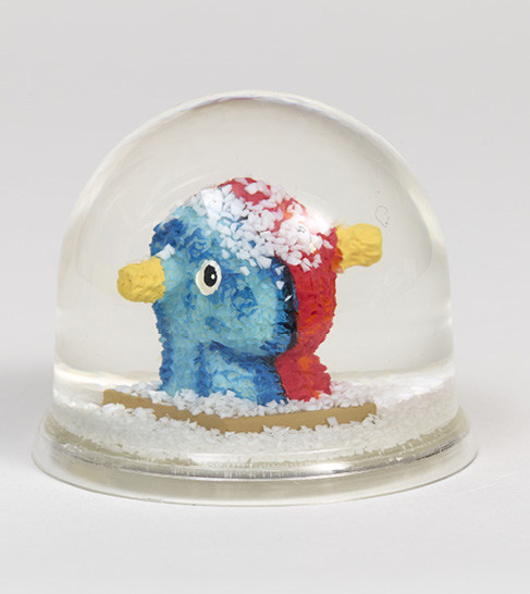 JEFF KOONS (NE EN 1955) SPLIT ROCKER, 2000 Multiple Boule de neige Cachet «Mission…