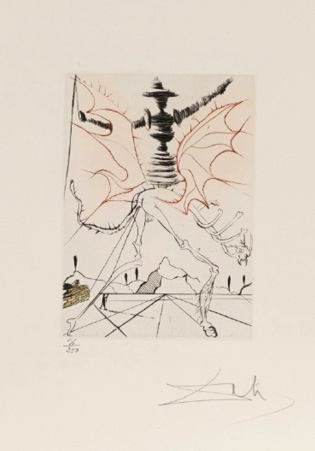 SALVADOR DALI (1904-1989) MUCH ADO ABOUT SHAKESPEARE, 1970 (Michler & Löpsinger,…