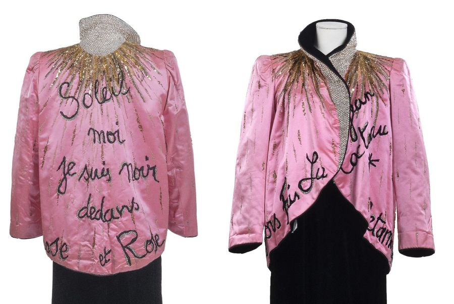 162.YVES SAINT LAURENT, COLLECTION HAUTE COUTURE, AUTOMNE – HIVER 1980  Broderie…