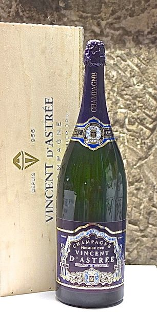 "1 mathusalem CHAMPAGNE ""Tradition"", Vincent d'Astrée 1996 cb"