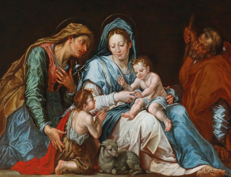 Anton Langmair (Nuremberg active in the 17th Century) The Madonna and Child with…