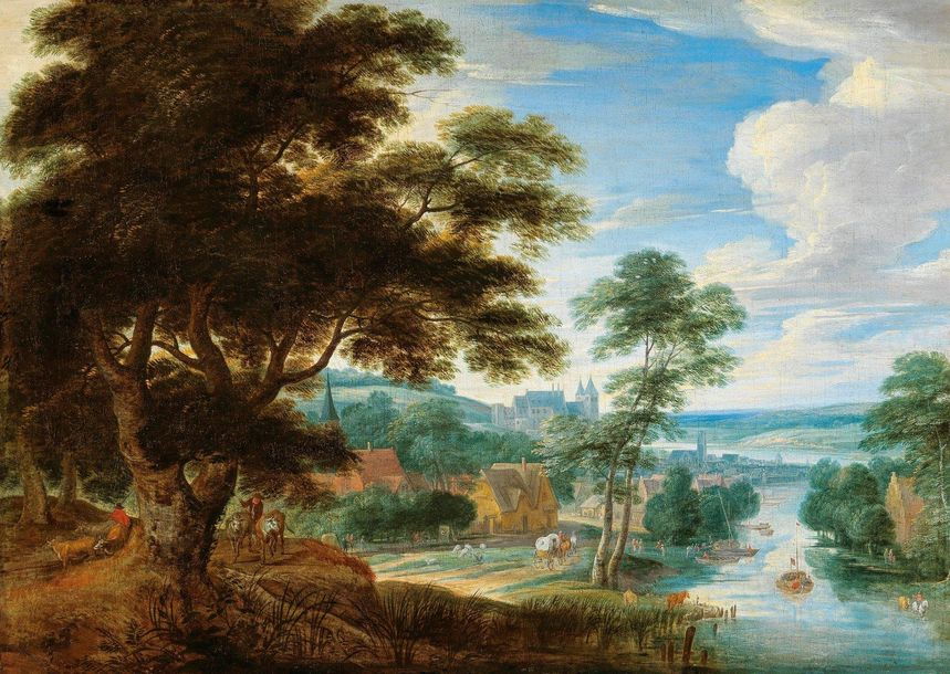 Philips de Momper (Antwerp 1598–1634) and Jan Brueghel II (Antwerp 1601–1678) An…