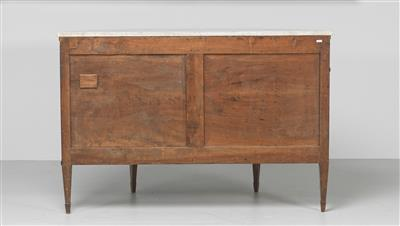 A Large Semicircular Directoire Chest of Drawers, so called demi lune form, Fran…