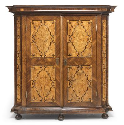 A Baroque Cabinet, so called Maria Theresa cabinet, mid 18th century, demountabl…