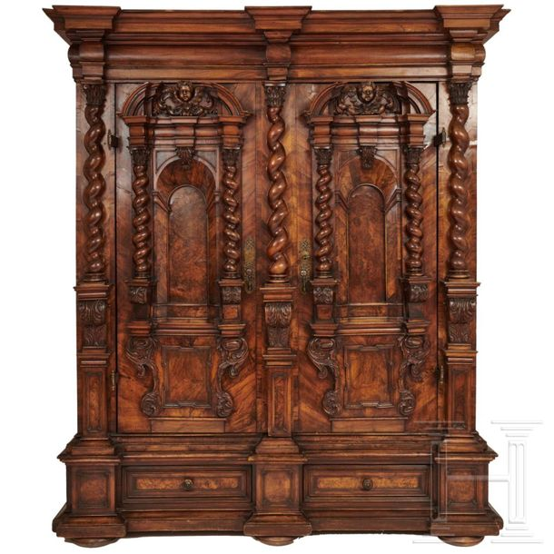 A South German Renaissance cabinet, Ulm/Augsburg, 2nd half of the 17th century  …