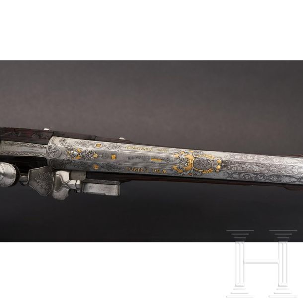 A significant deluxe flintlock shotgun from the electoral armoury of Maximilian …