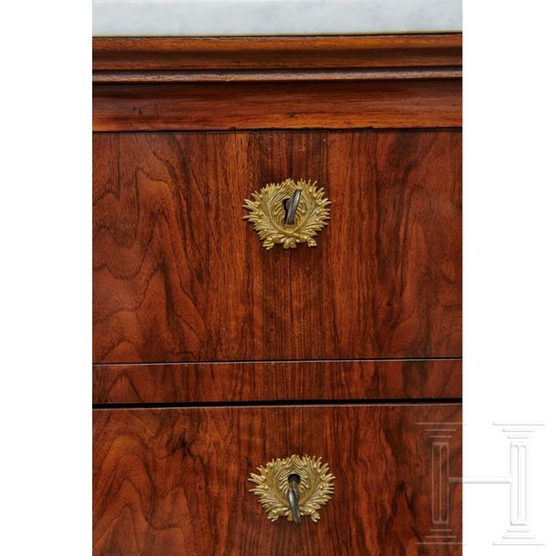 A pair of Italian sideboards with drawers, early 19th century  A pair of early 1…