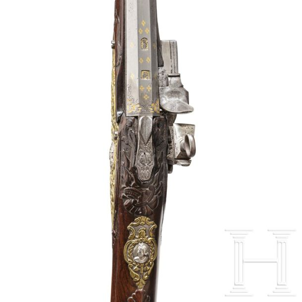 A deluxe miquelet rifle from a noble estate, Thomaso Contino of Pinerolo, circa …
