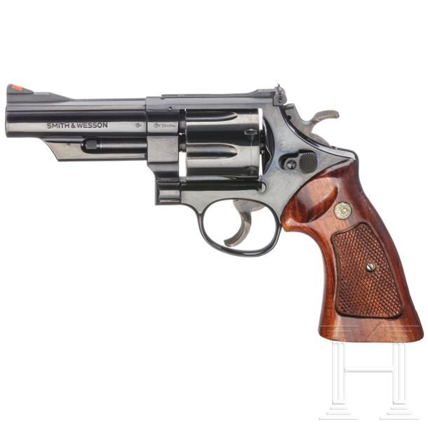 "Smith & Wesson Mod. 25 5, ""The 1955 Model .45 Target Heavy Barrel"", in Schatulle…"