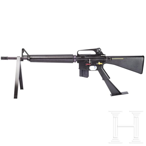 A Mockup Device M16 A2 Model for the demonstration of the function of an M16 A2,…