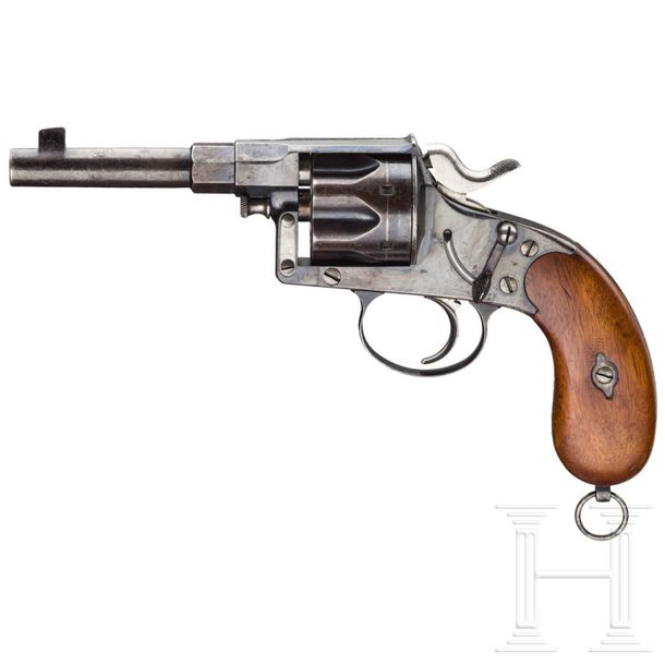 A Reichsrevolver Mod. 1883, model or trial of the manufacturer's Royal Prussian …